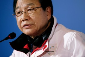 President of the Pyeongchang Organizing Committee for the 2018 Winter Olympics Kim Jin-sun