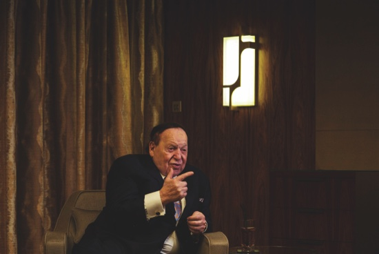 Sands China Ltd. Chairman Sheldon Adelson Attends St. Regis Macao Hotel Opening