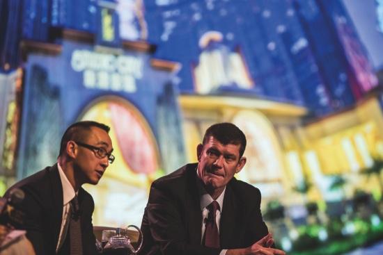 Macau stake cut stoking Crown buyout speculation