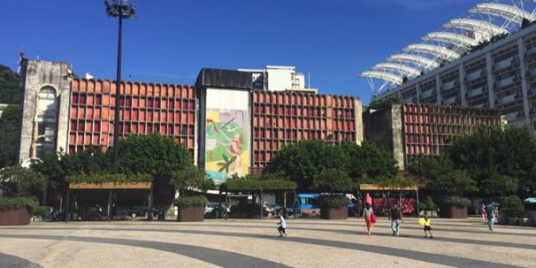 Hotel Estoril seen from Tap Seac Square
