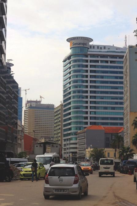 The Sonangol headquarters in Luanda