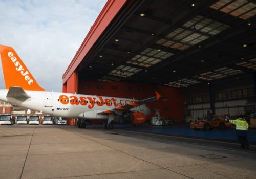 Airside Operations With Budget Carrier EasyJet Plc At Luton Airport