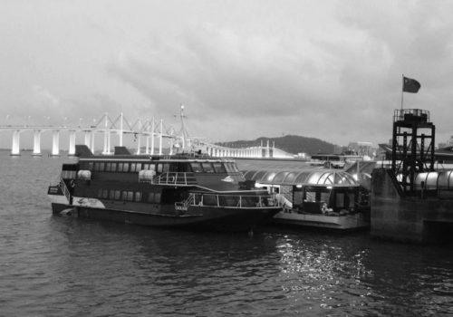 Ferry terminal's passenger-boarding bridges up for renewal
