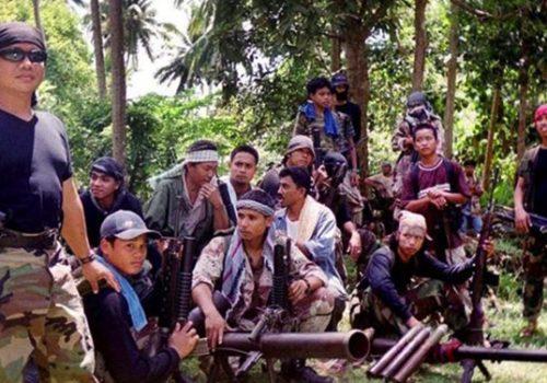 Abu Sayyaf militants in the Philippines