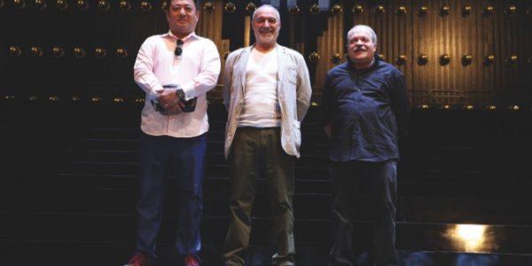 Lu Jia, Giancarlo del Monaco and William Orlandi onstage