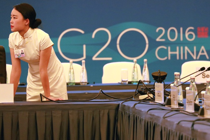 USA to urge G20 to boost economies, pay attention to angry citizens