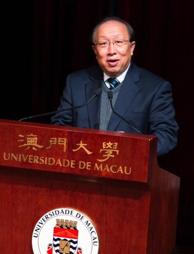 UM's rector Wei Zhao