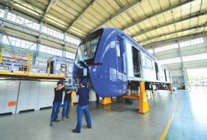 CHINA-JILIN-CHANGCHUN-SOUTH AMERICA-EMU TRAIN-MANUFACTURING (CN)