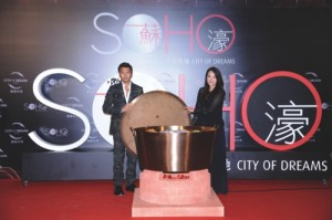 Nic and Mani inaugurate the grand opening of SOHO at City of Dreams Macau in an innovative way