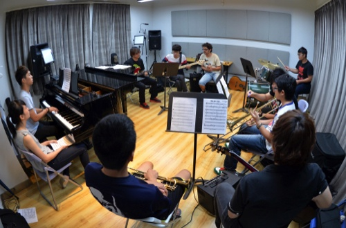 澳門國際音樂節藝術教育延伸活動-《樂得起》爵士樂 工作坊初級班