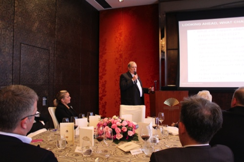 David Green speaks during the BBAM luncheon