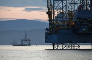 Offshore Oil And Gas Operations On The Cromarty Firth Ahead Of The Scottish Referendum