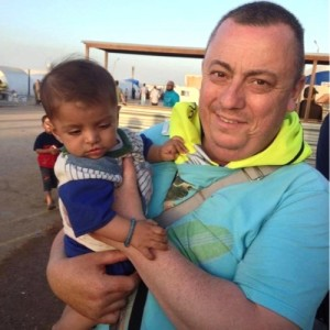 British man Alan Henning, currently held hostage by the Islamic State (IS)