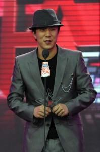 Jaycee Chan, son of Hong Kong martial arts film star Jackie Chan