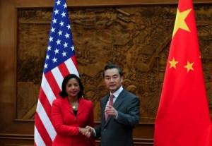 Susan Rice, Wang Yi