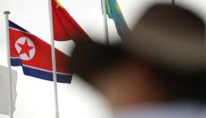South Korea North Korean Flag