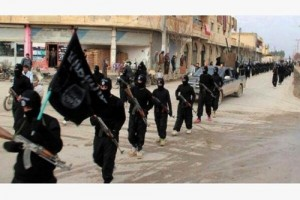 Fighters from the Islamic State