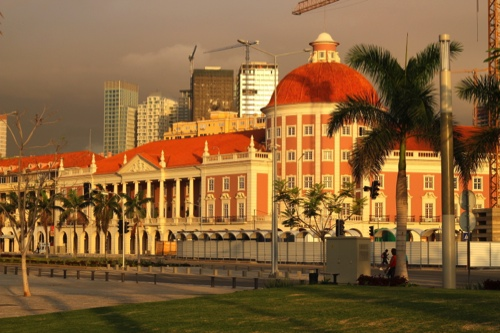 The National Bank of Angola headquarters in Luanda