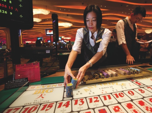 General Images Of Gaming In Macau