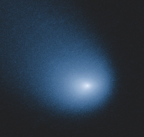 Comet C/2013 A1, also known as Siding Spring, as captured by Wide Field Camera 3 on NASA's Hubble Space Telescope