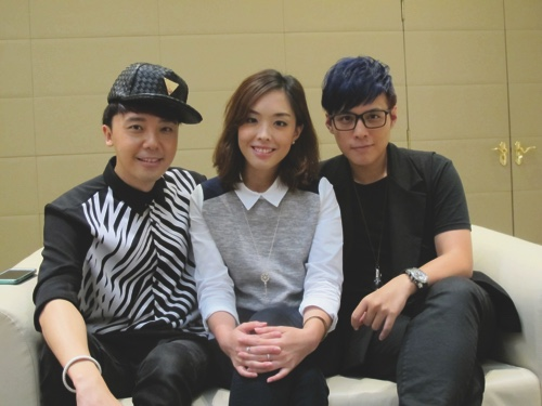 From left, Hyper Lo, Josie Ho and AJ