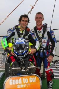Andre Pires (left) and Allann-Jon Venter