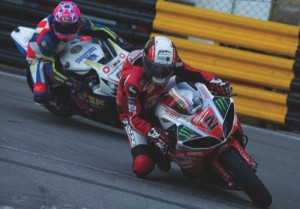 Michael Rutter fought hard for second place