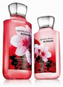 Bath & Body Works Signature Collection- Japanese Cherry Blossom Shower Gel & Body Lotion resized