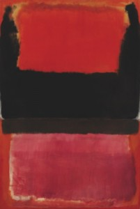 "Mark Rothko's ""No. 21 (Red, Brown, Black and Orange)"""