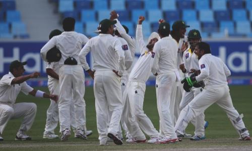 Mideast Emirates Pakistan Australia Cricket