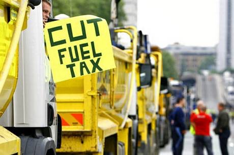 Truckers' protest