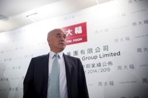 Henry Cheng, chairman of Chow Tai Fook Jewellery Group Ltd.