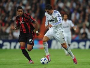 Real Madrid's Ronaldo and Schalke's Boateng