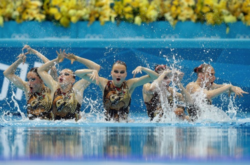 Mixed Synchro Swimming