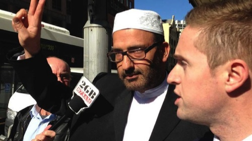Man Haron Monis, gunman in the Lindt Chocolat Cafe siege in Martin Place