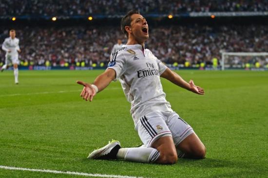 Real Madrid's Chicharito