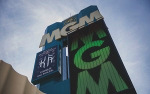 The MGM Resorts International Grand Hotel & Casino stands in Las Vegas