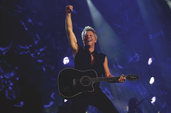 """""""Music is timeless and a hit song will always be good, it transcends generations…though I wish I held on to all my ripped jeans!"""", Jon Bon Jovi"""