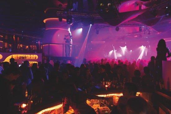 Guests enjoying celebrations throughout the night at Pacha Macau's Grand Opening event