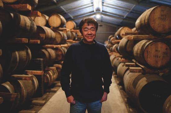 Ichiro Akuto, president of Venture Whiskey