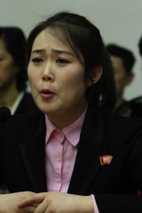 Choe Rye Yong, a waitress who worked at the Azalea Friendship Restaurant in Ningbo