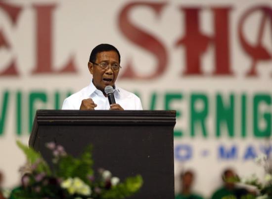 Philippines Vice President Jejomar Binay