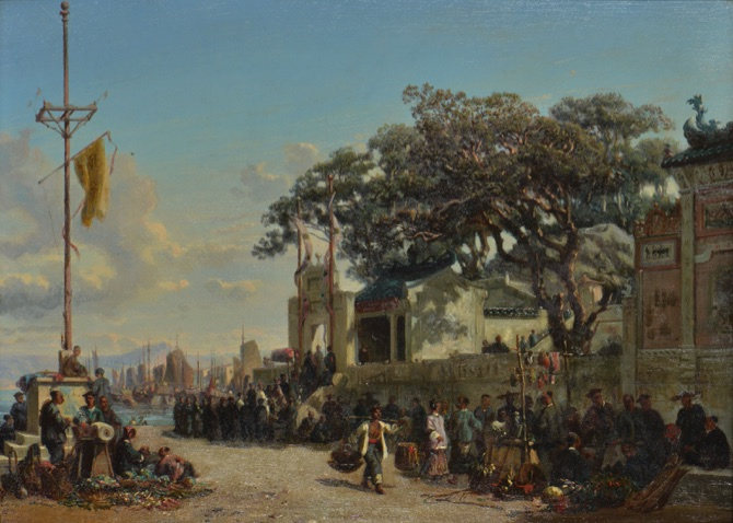 A Borget painting