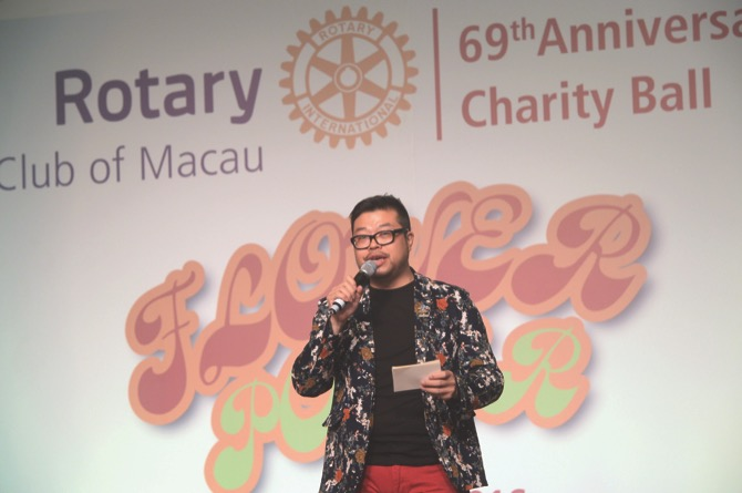Speech by Mr. Sam Ip, Ball Chair and President-Elect 2015/16 of Rotary Club of Macau