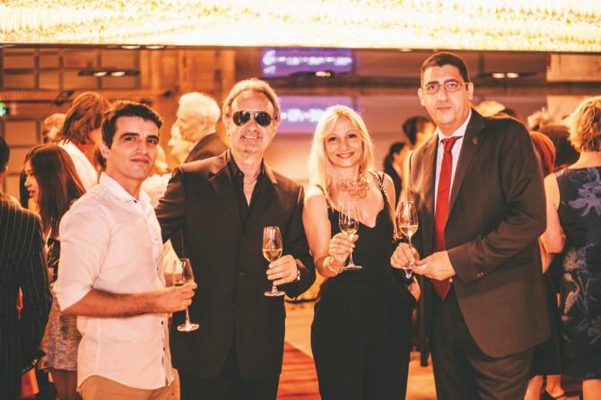 Ivo, Guy, Viktoria and Pedro