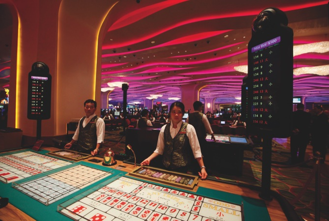 Macau Asia Gambling On Casinos