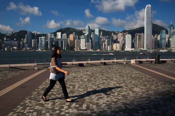 General Images of Hong Kong Economy Ahead of Trade Balance Figures