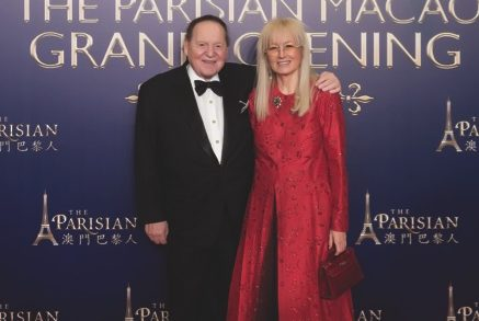 Sheldon Adelson and Miriam Adelson