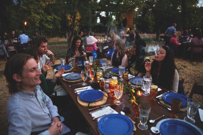 Food Marijuana Dining