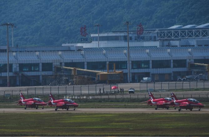 CHINA-ZHUHAI-AVIATION AND AEROSPACE EXHIBITION-RED ARROW (CN)